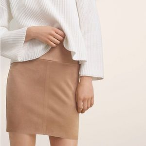 Wilfred Free Suede Mini Skirt